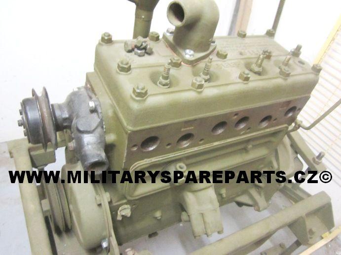 motor jeep willys mb ford gpw www.militaryspareparts.cz
