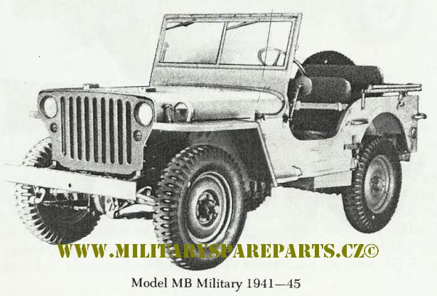 JEEP WILLYS MB FORD GPW WWW.MILITARYSPAREPARTS.CZ
