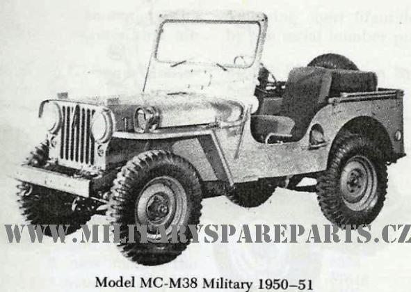 M38 WWW.MILITARYSPAREPARTS.CZ