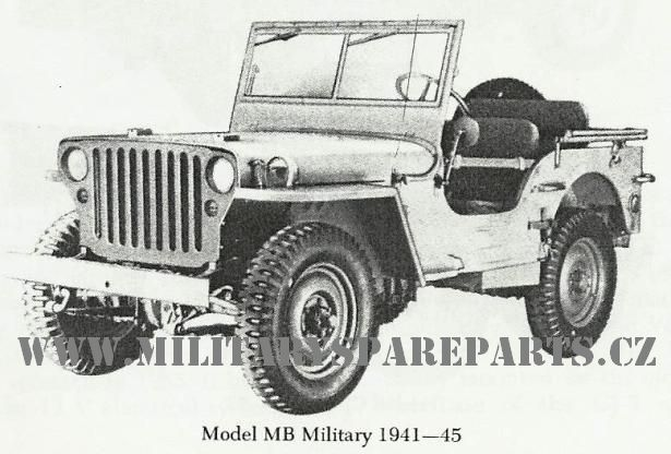 JEEP WILLYS FORD WWW.MILITARYSPAREPARTS.CZ