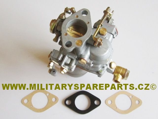WILLYS MB FORD GPW JEEP KARBURATOR L HEAD WWW.MILITARYSPARTPARTS.CZ