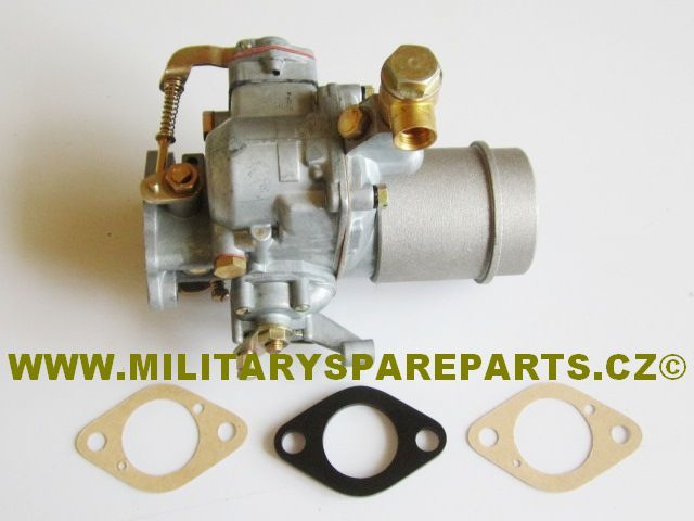 JEEP WILLYS MB FORD GPW KARBURÁTOR L HEAD WWW.MILITARYSPAREPARTS.CZ